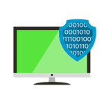 Cyber Security Cost Management Computer Screen With Data
